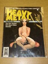 HEAVY METAL 1983 SEPT VG+ HM COMMS US MAGAZINE FRANCIS FORD COPPOLA