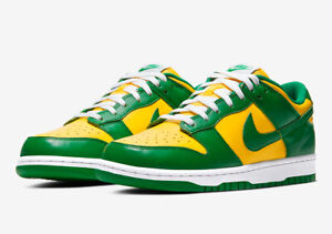 Nike Dunk Low SP Brazil (2020) CU1727-700 Size 11.5