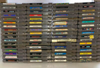 $4.50 Nintendo NES Cartridge BLOWOUT *Updated 12/16/20* Lot Tested Working Rare