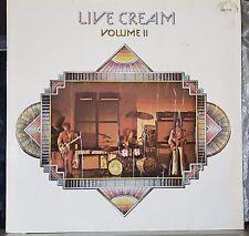CREAM, Eric Clapton - Live Cream Volume II - 1972 LP record