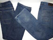 2 Pair Boys Size 16/29 Straight Leg Jeans