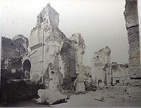 PHOTO TERMES DE CARACALLA ROME 19EME ALBUMINE CARTON CONTRECOLLE N°7920 A705