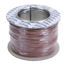 Model Railway/Railroad Layout/Point Motor etc Wire 100m Roll 7/0.2mm 1.4A Brown