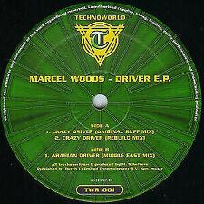 "Marcel Woods - Driver E.P., 12"", EP, (Vinyl)"