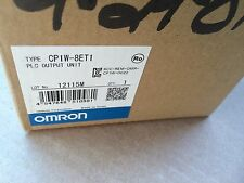 New In Box Omron PLC CP1W-8ET1 - PLC OUTPUT UNIT - Quantity  Available in stock