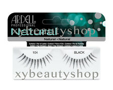 10 Pairs Ardell Natural 104 Fashion Lash Fake Eyelashes Black