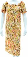 Ladies Plus Size 16 - 26 New Elastic Gypsy Neckline Tunic Dress Floral Check