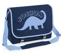 Personalised Dinosaur Messenger Bag Back to School Bag Kids Shoulder Bags Boys