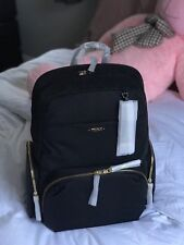 New AUTH Tumi $345 Calais Voyageur Backpack in Black for Business