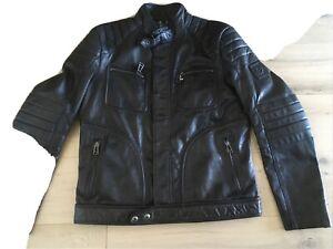 Belstaff Leather Weybridge Jacket - XL