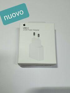 Originale Apple Spina 20W Tipo Usb-C Alimentatore Veloce Carica IPHONE 12pro/max