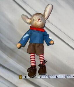 "Steiff Jack Rabbit Vintage 1920-30s 8"" VERY RARE"