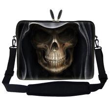 """17.3"""" Laptop Computer Sleeve Case Bag w Hidden Handle & Shoulder Strap 909"""