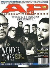 AP Alternative Press 326.1 & 326.2 September 2015 The Wonder Years Both Covers !