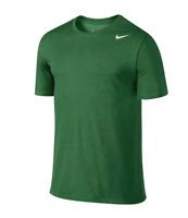 Nike Tee Athletic Cut Men's BIG & Tall Dri-Fit Swoosh T-Shirt Pine Green 3XL 4XL