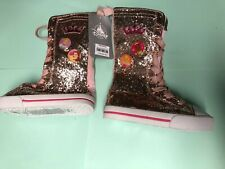 Disney Princess Boots (New, Never Worn) Size 8 Us Cinderella and Bell