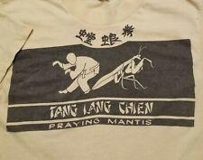 Vintage 1970s Praying Mantis Karate Lexington Ky Thin Made in Usa Xs Shirt