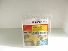 Agfa Multipack T0487 for Epson Stylus Photo R-200 220 984 4/12ft Rx640 Rx-620