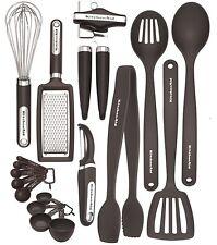 KitchenAid Black 17-piece Kitchen Utensil and Tool sSet