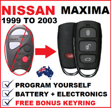 Suitable for  NISSAN MAXIMA PULSAR REMOTE KEY 1999 2000 2001 2002 2003 2004 2005