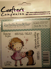 SALE! Rubber Stamps by Crafter's - Rachel Miller - From Me to You : RM4