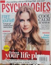 Psychologies Magazine UK Sept 2018 Amy Adams Reboot Your Life FREE SHIPPING CB