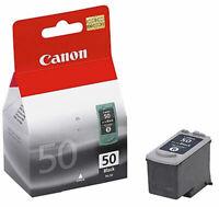 GENUINE Canon PG-50 Cartridge for PIXMA MP150 MP180 MP450 MP460 iP1700 iP2200