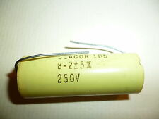 Capacitor - lot of 4 - audio crossover -8.2 mfd 250V