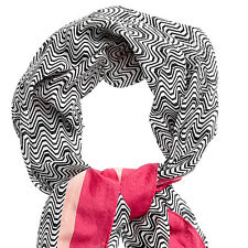 BNWT MISSONI Designer Ladies Zigzag Silk Blend Scarf / Shawl @ NEW from Target