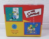 The Simpsons 200 Piece Double Sided Homer Jigsaw Puzzle 1998