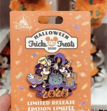 Disney Parks Shanghai 2020 Halloween Mickey Minnie Pumpkin Collection Pin