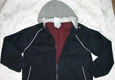 Gymboree Boys VARSITY FOOTBALL Hooded Sweatshirt Jacket NWT 10