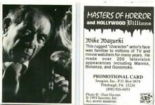 Masters of Horror promotional card 3 [Mike Muzurki]