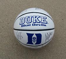 2012 Duke Team Signed Autographed Basketball Coa Proof! Rivers, Curry +
