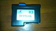 Lexmark 83 empty  printer ink cartridges x 4 Never been refilled