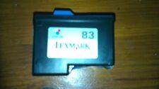 4 x empty Lexmark  printer ink cartridges Never been refilled