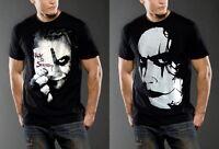 New men Black J0ker t-shirt top tee Cr0w movie Comics classic VTG S M L XL 2XL
