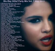 Blu-ray Music Video Promos, ONLY HD VIDEOS May 2013 Party Mix, Vol 7 (Dance/Pop)
