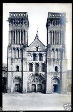 PHOTO des  Fréres NEURDEIN   CAEN  L'EGLISE DE LA TRINITE   18 X 12 cm