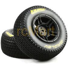 LOUISE 1:10 SC-Maglev Short Course Tire Super Soft Black Rim RC Car #L-T3145VBTR