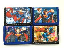SUPERMAN PORTAFOGLIO WALLET PURSE CARTOON  IDEA REGALO COMPLEANNO KRIPTON BOX:3