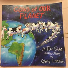 Vintage 1992 'Cows Of Our Planet' A Far Side Collection, Gary Larson (PB) Funny