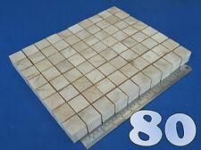 "LOT x 80 CUBES 1.3""/ 32 mm WOODEN BLOCKS BUNDLE SET PINE WOOD NATURAL ECO BRICKS"