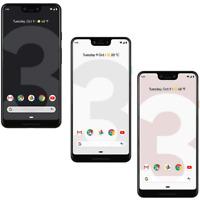 Google Pixel 3 - 64GB/128GB - Black / Pink / White - Fully Unlocked - Smartphone
