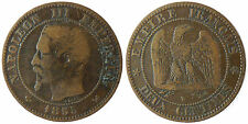 NAPOLEON  III  ,  2  CENTIMES  1855  W  LILLE