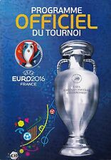 Programm | 2016 | UEFA EURO | France | French Edition