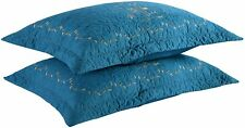 2 Pack Throw Pillow Covers Euro Sham Covers Pillow Shams Pillow Cover Embroidery