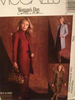 McCalls Sewing Pattern 4214 Ladies Misses Jacket Pants Skirt Size 6-12 Uncut