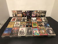 Lot Of 28 90's Hip Hop R&B Cassette Tapes & Singles