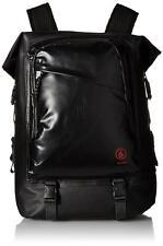 Volcom Mod Tech Surf Tarpaulin Backpack Black Wetsuit Fins Bag Foldout Compartmt